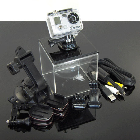 GoPro hero wide Motorsport kit FS Recommendation:  Go Pro HD Hero