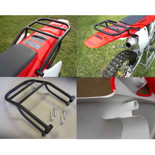 Crf250x 04 16 Rear Fender Rack Crfs Only Your Source