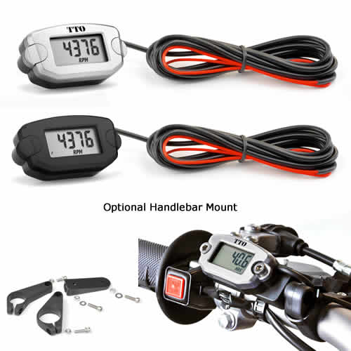 Aftermarket Hour Meter : Trail tech tach hour meter crfs only your source for