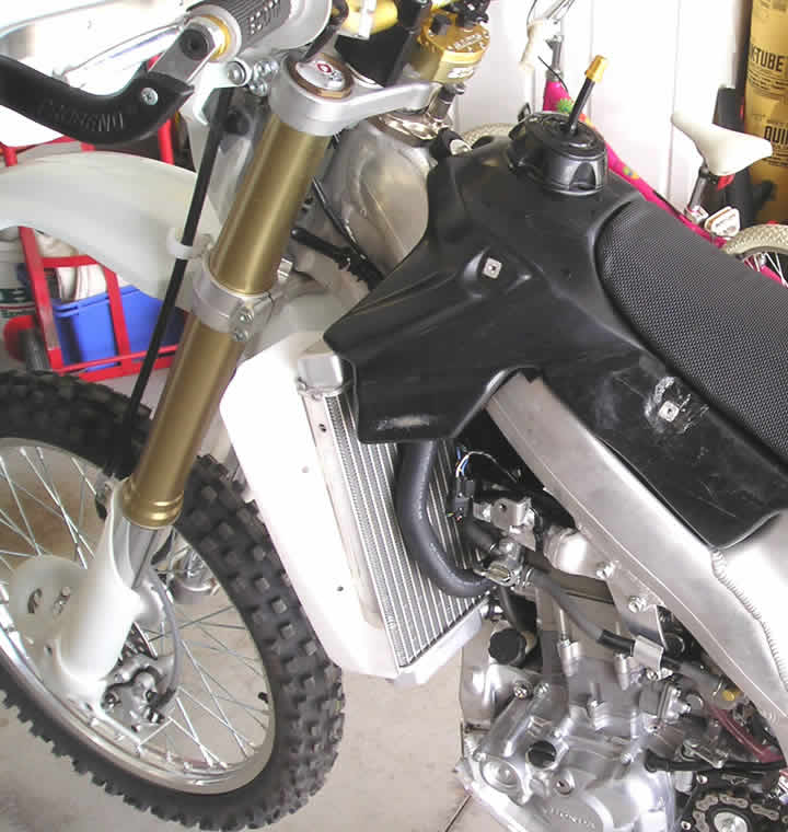 Crf S Only How To Install Rooster Radiator Guards On A