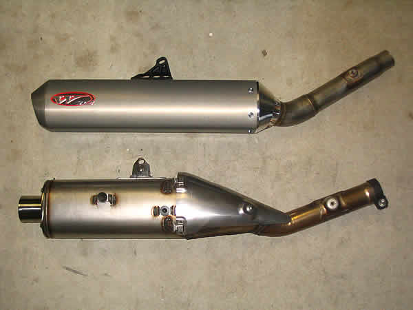 Crf S Only Honda 2005 Crf450r White Brothers E2 Exhaust