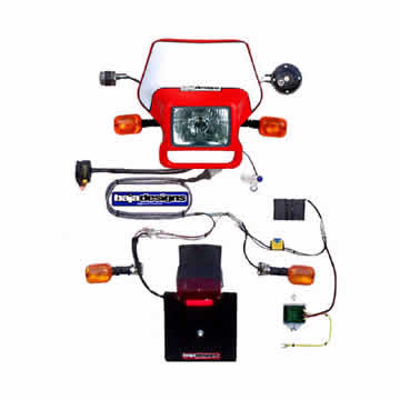 74 035 crf150f'06 14 baja designs dual sport conversion kit crf's only  at nearapp.co