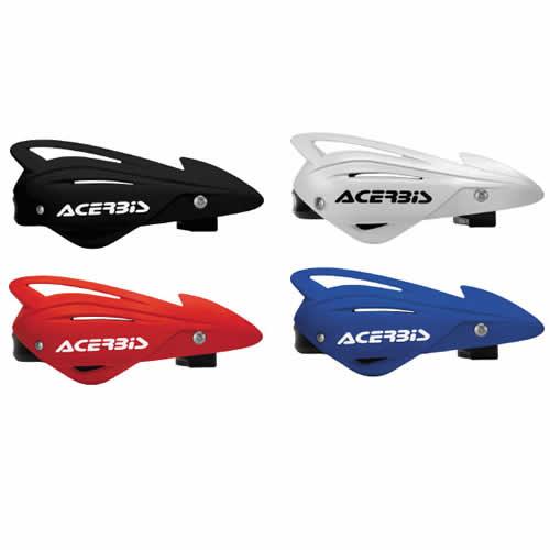 Black Acerbis Tri-Fit Handguard