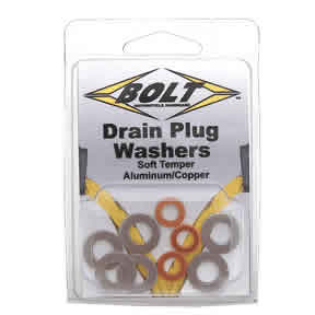 Bolt Crf Drain Plug Washer Kit Crfs Only Your Source