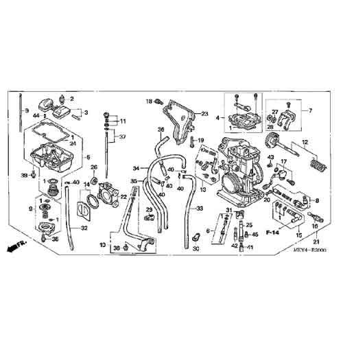 Honda Fcr Carb O Ring Gasket Kit