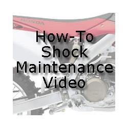 Honda Showa Shock Maintenance Video