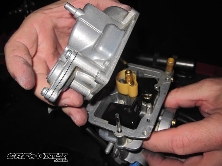 Remove Float Bowl on Keihin Carburetor Diagram