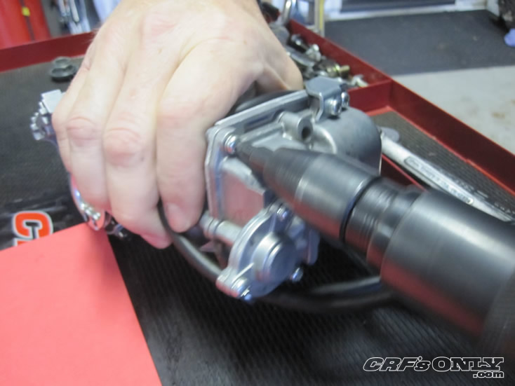 CRF's Only - How to install the Honda Updated Accelerator