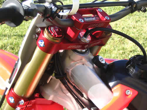 CRF's Only - Honda 2005 CRF450R Applied Racing Factory ...